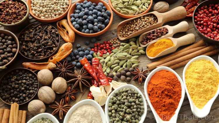 photo of herbs and spices that you might need to restock during self-isolation