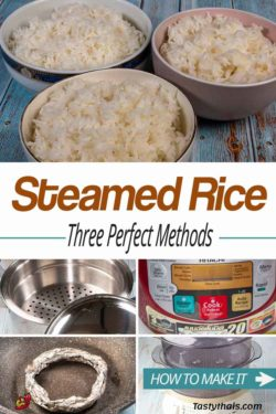 photo of three perfect methods to cook steamed rice