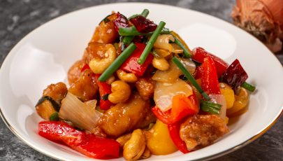 Chicken Cashew Stir Fry Thai Style