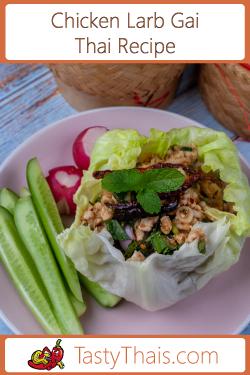 Chicken Larb Gai Navigation Excerpt