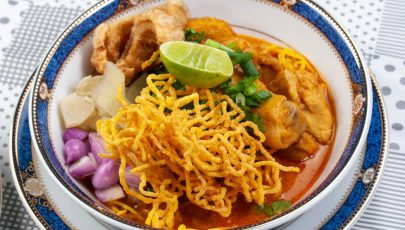 Khao Soi Served