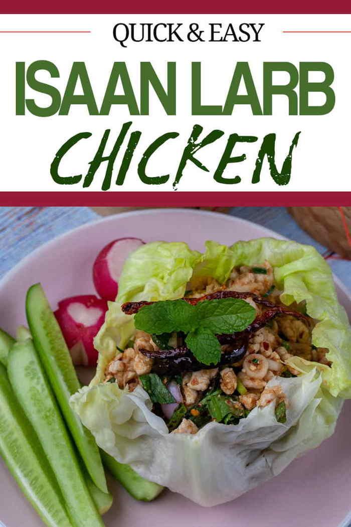 Quick & Easy Isaan Larb Gai