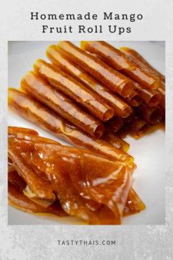 Mango Druit Roll Ups - Taste of Thailand