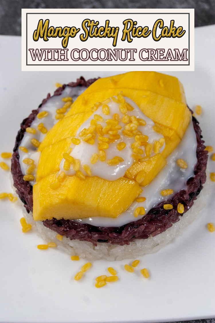 Mango Sticky Rice Cake Recipe