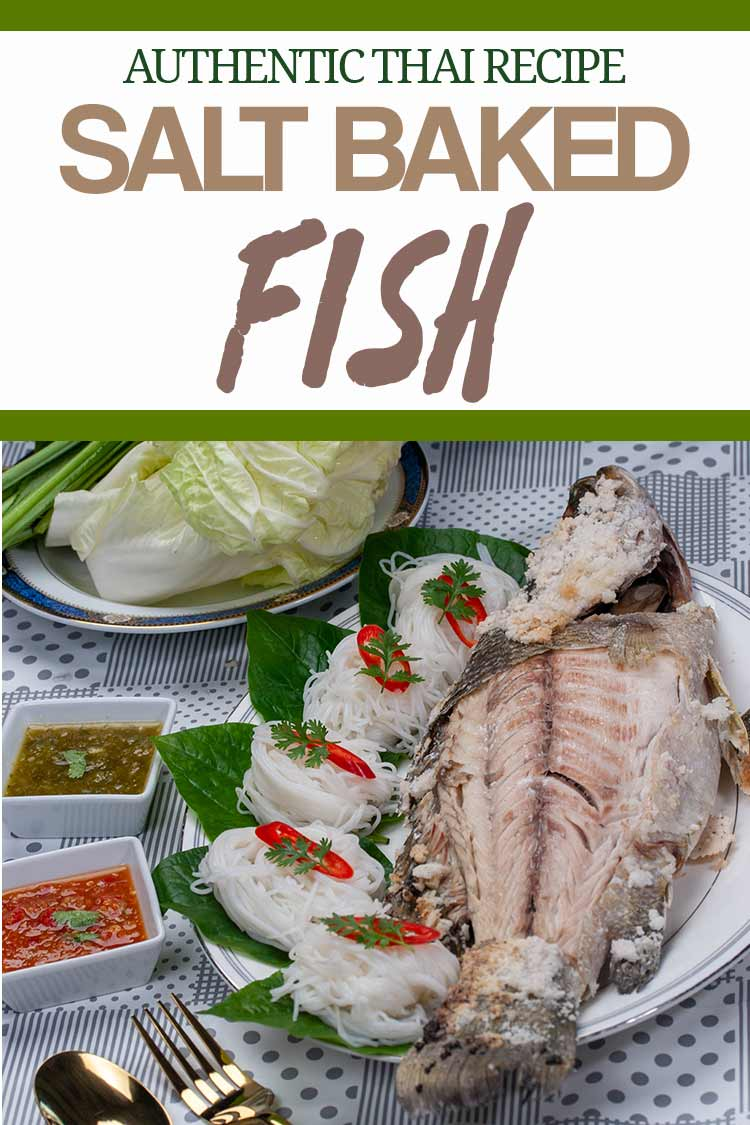 Thai Salt Baked Fish