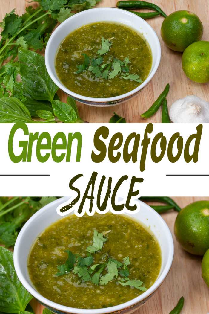 Compare the blended and pounded versions of this seafood dipping sauce