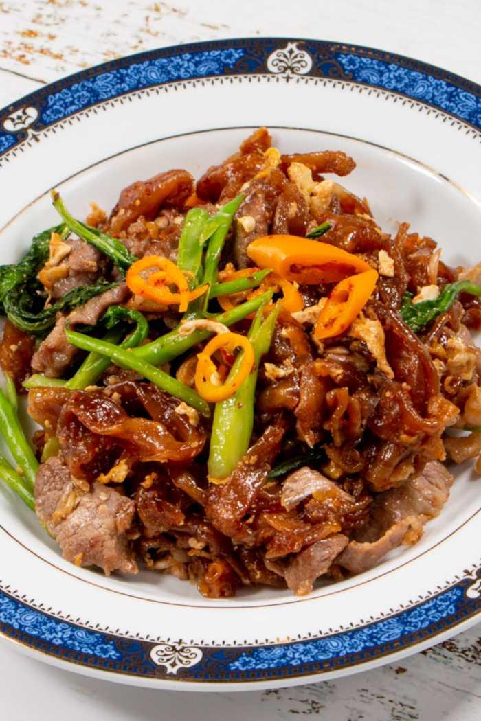 Pad See Ew Thai Streetfood Dish