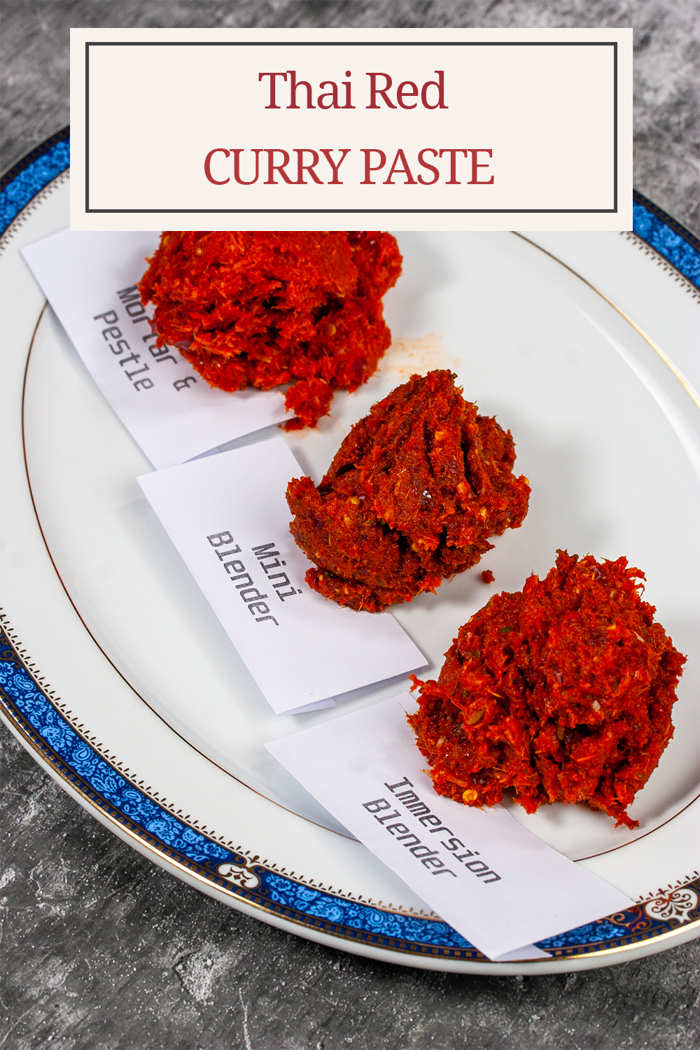 Thai Red Curry Paste 3 Methods Compared